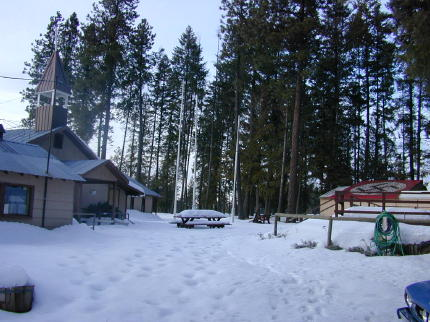 Aryan Nations Compound, Winter 2000