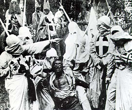 Scene from 'Birth of a Nation'